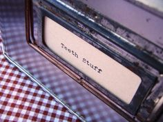 Gingham Drawer Liners - make your own with iron on vinyl