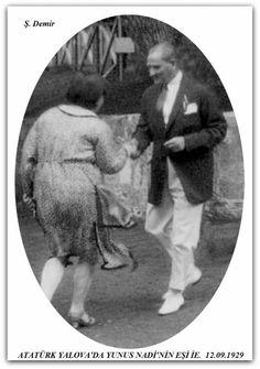 Atatürk Yalova'da 12.09.1929