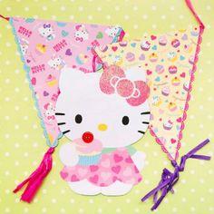 Hello Kitty Garland