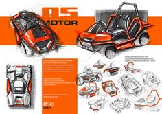 Future studie of the flagship mower - Sherpa 940 for AS-Motor Germany GmbH Co KG. Car Design Sketch, Car Sketch, Layout Design, Bike Wall Storage, Perspective Sketch, Thumbnail Sketches, Sketching Techniques, Architecture Concept Drawings, Industrial Design Sketch