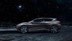 Infinity Q30 concept. On the moon. by Marc Trautmann, via Behance