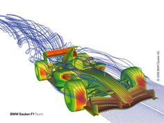 CFD or Computational Fluid Dynamics Use of ANSYS Software by BMW Sauber F1 Team Commended by MITcon Manufacturing IT Awards