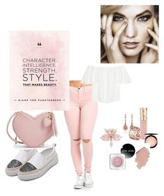 """Untitled #38"" by nusreta-bjelic ❤ liked on Polyvore featuring Valentino, Tartesia, Smith & Cult and MAC Cosmetics"