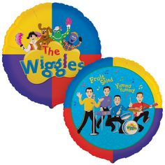 The Wiggles Birthday Party Balloons