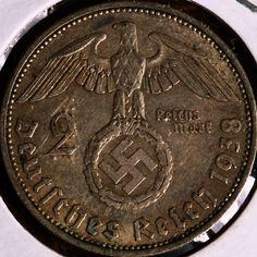 1938 German Nazi Coin