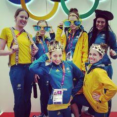 Synchronized Swimming, Team Australia @oliaburtaev (Taken with Instagram)