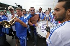 supporter of greece on euro 2012