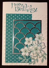 SU! Flower Shop, Petite Petals and Sassy Salutations stamp sets; Striped Scallop Thinlits die - Lesley Jendra