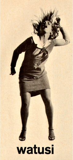 The Watusi /wɑːˈtuːsi/ is a solo dance that enjoyed brief popularity during the early 1960s.[1] It was the second-most popular dance craze in the 1960s in the United States, after the Twist.[2]