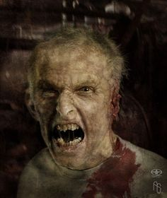 Man mutating into Imp 3 by aaronsimscompany.deviantart.com on @deviantART