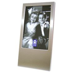 Personalized 4 x 6 Vertical Silver Picture Frame - Create A Favor