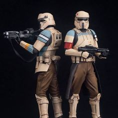 My favorite trooper of Rogue One is the Skarif Shore Trooper. Followed by the Death Trooper in second place. This trooper looks so retro. Like the uniform model just before the Biker Scout Troopers that were introduce to us in Return of the Jedi, which were also land specific troopers. #scarif #shoretrooper #bikerscout #stormtrooper #rogueone #trueprequel