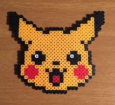 Pikachu visage Ringard collection Pixel Art Pokemon
