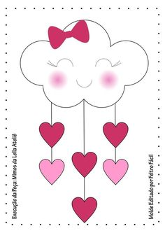 Quadro Chuva de Amor molde de feltro - Ver e Fazer Frame Rain of Love felt mold - See and. Felt Crafts, Diy And Crafts, Crafts For Kids, Paper Crafts, How To Make Frames, Love Frames, Origami, Sewing Projects, Projects To Try