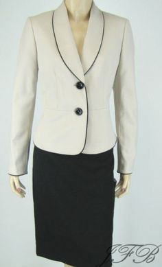 Beautiful Career/Business skirt suit for the Stylish woman.  Brand New with tags and we have it for $62.99 with free priority shipping.  See at www.justfashionsboutique.com