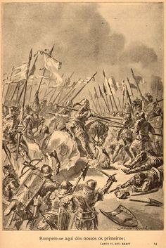 Battle of Aljubarrota - Portugal 1385