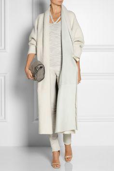Missoni|Shearling wrap coat