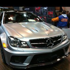 Mercedes C63 AMG Black edition