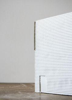 phase #2 / 20.04.15 / AER ATER / smokehouse / sketch modelPlaster. 1:50.Edvard Lindblom