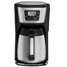 Black and Decker 12-cup Programmable Coffee Maker with Thermal Carafe ** Check out the image by visiting the link.
