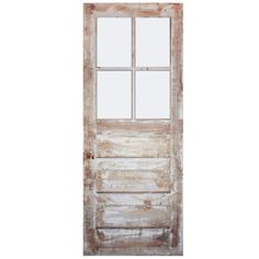 "Salvaged 32"" Antique Door"