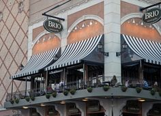 Brio Tuscan Grille on the Country Club Plaza.    Incredible Italian food, terrific atmosphere, and the lobster bisque...Superb!