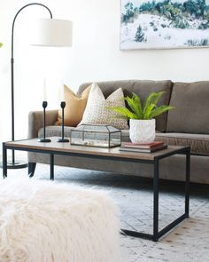 Flipping homes, one at a time. Livingroom makeover, home decor, neutrals, styling Flipping Homes, Fixer Upper House, Living Room, Table, Furniture, Home Decor, Decoration Home, Room Decor, Sitting Rooms