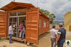 Curious about investing in #education in an eco-friendly way? See how #coffee farmers in Honduras built a computer lab out of a shipping container: http://fairtrd.us/13sObS9