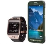 Win a Samsung Galaxy S 5 Active and Gear 2