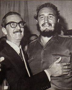 Jânio Quadros e Fidel Castro