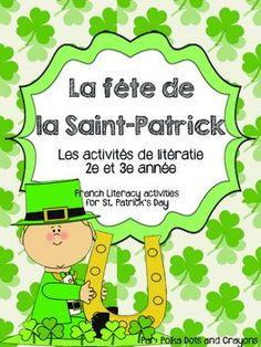 This literacy package is a great way to review St. Patrick's Day vocabulary in French!