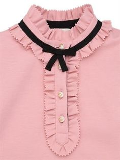 gucci - kids-girls - dresses - wool blend milano jersey dress