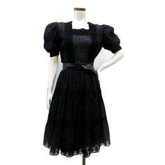 1970's little black dress.  So cute!