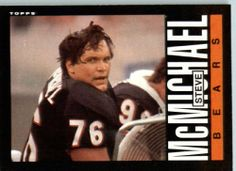 1985 Topps # 32 Steve McMichael Chicago Bears Football Card - Shipped In Protective Screwdown Display Case! by Topps. $2.88. 1985 Topps # 32 Steve McMichael Chicago BearsFootball Card - Shipped In Protective Screwdown Display Case!