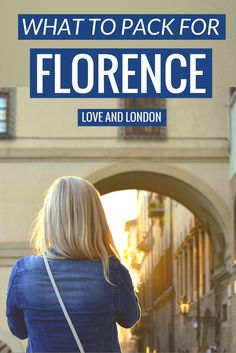 What to pack when going to Florence. Top things people forget to bring when going to Florence, Italy. New Travel, Holiday Travel, Italy Travel, Travel Tips, Summer Packing Lists, Smart Packing, Visit Florence, Florence Italy, Study Abroad Packing