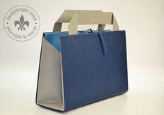 Weiteres - Buchhandtasche blau - ein Designerstück von Made-by-May bei DaWanda