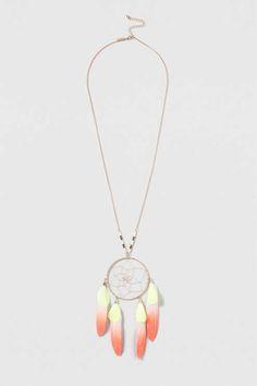 Festival Dreamcatcher Necklace