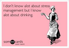 #quote #stress #drinking