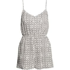 H&M Playsuit (580 UYU) ❤ liked on Polyvore featuring jumpsuits, rompers, playsuits, jumpsuit, dresses, romper jumpsuit, h&m romper, short jumpsuits, h&m rompers and jump suit