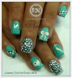 Glitter Acrylic Nails | +Queensland.+Acrylic+Nails,+Gel+Nails,+Nail+Art,+Sculptured+Acrylic ...