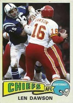 509027281 Len Dawson Kansas City Chiefs Visit us on Facebook at  https   www