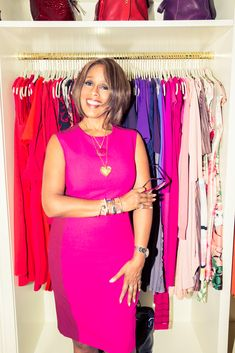 Gayle King more waerobe pics ons tie but seems very bw