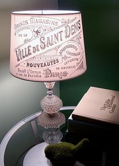 *The Graphics Fairy LLC*: Brag Monday - French Lampshade & Whimsical Collage DIY