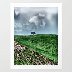 Alone Art Print by Anthony M. Davis - $18.00