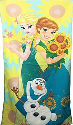Disney Frozen Fever Beach Towel, Sunflower Dreams Disney http://www.amazon.com/dp/B00TY5FQHO/ref=cm_sw_r_pi_dp_DHfivb17CW2ZT
