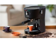KRUPS Opio Pump Boiler Espresso Machine with Milk Frothing Nozzle for Cappuccino, Black Krups Coffee Maker, Espresso Coffee Machine, Online Discount, Discount Shoes, Cheap Coffee Machines, Coffee Maker Reviews, Coffee Type, Coffee Branding, Brown Shoe
