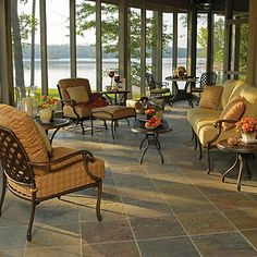 screen porch - it's Doug's Dream to have one of these someday