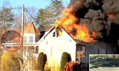Homeowner clears TP by lighting it and burns down her house