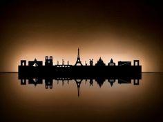 Radius Design 711 K Teelicht Halter Skyline Paris