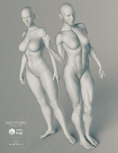 Genesis 3 Female Body Morphs